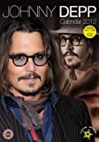 Johnny Depp A3 2012 Calendar with FREE stickers