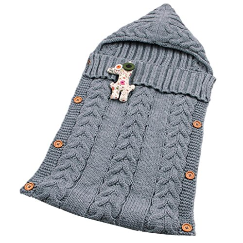 OVERDOSE Baby-Nette Decke Wickeln Schlafsack Kids Toddler Sleep Sack Kinderwagen Wrap Shop Baby-booties