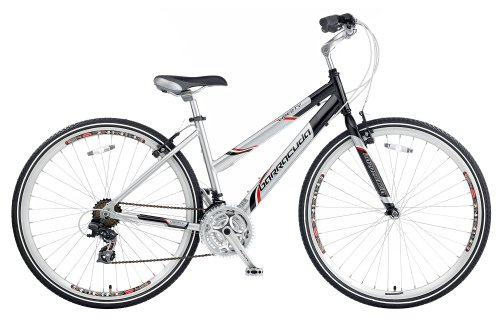 Barracuda Women's Liberty Trekking Bike – Silver/Black ( Wheel 700C, Frame 17 Inch)