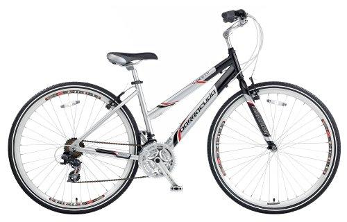 Barracuda Women's Liberty Trekking Bike – Silver/Black ( Wheel 700C, Frame 17 Inch)