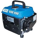 Güde 40626 GSE 950 - Generador eléctrico (750 W, motor de 2 tiempos, 1 cilindro, 0,8 kW)