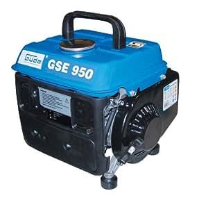Güde GSE 950 40626 Générateur 1 cylindre / moteur 2 temps 650/750 W / 0,8 kW / 1 PS (Import Allemagne)