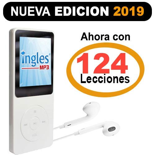 Curso INGLES MP3 - Incluye reproductor MP3 compacto