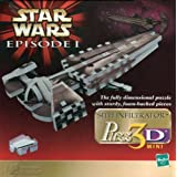 Star Wars Episode I: Sith Infiltrator Puzz3D 3D Puzzle
