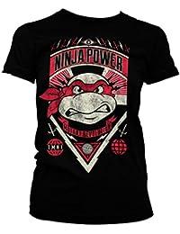 Officially Licensed TMNT Ninja Power Women T-Shirt