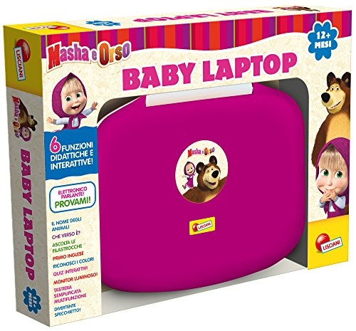 Lisciani giochi 51199 masha e orso baby laptop for Masha giocattolo