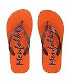 Menfolks Orange Flip Flops