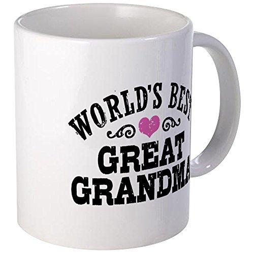 d94060266 CafePress - World's Best Great Grandma - Coffee Mug, Novelty Coffee Cup by  CafePress