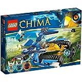 LEGO Legends Of Chima - Playthèmes - 70013 - Jeu de Construction - L'ultra Striker d'equila