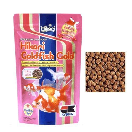 Hikari Goldfish Gold - Mangime completo galleggiante in pellet per tutte le carpe koi e pesci rossi