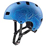 Uvex Fahrradhelme für Kinder, Blau, 51-55