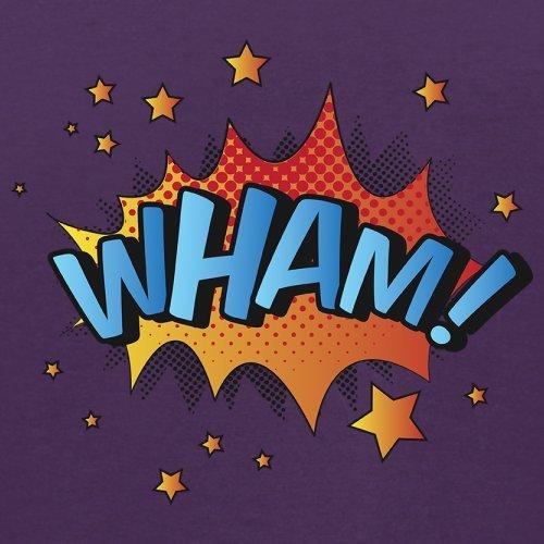 Superheld Wham - Herren T-Shirt - 13 Farben Lila