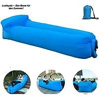 Aufblasbares Sofa,Luftcoach Hochwertige Wasserdichtes,Air Lounger luftsofa