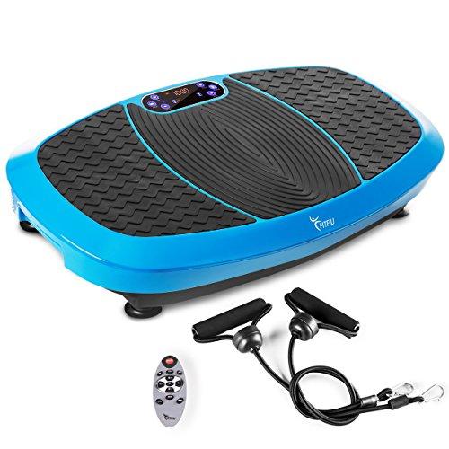 Fitfiu Pld4000A Plataforma Vibratoria Oscilante, Azul, Talla Única