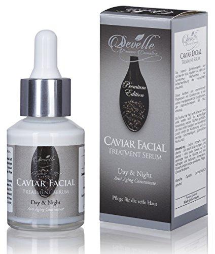 Anti Aging Pflegekonzentrat Kaviar 30 ml. Pipettenflasche I Caviar-Extrakt Pflege-Serum auch für...