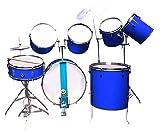 Cheap & Best 9pcs.Professional Blue Drum Kit