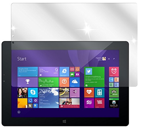 dipos I 3X Schutzfolie klar passend für Odys WinPad V10 Folie Displayschutzfolie