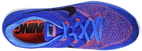 Zapatillas Nike Flyknit Lunar3 Blue De Nike Para Hombre (foto Azul / Negro-concord-white)