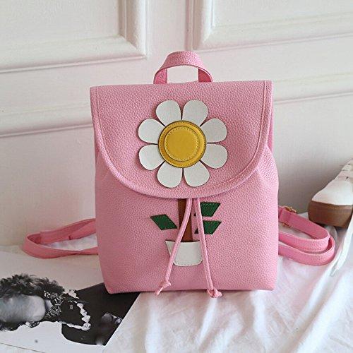 TianranRT , Damen Rucksackhandtasche Rose