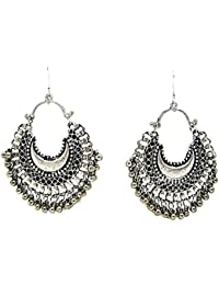 Muccasacra Hot Selling Fashion Afghani Style Silver Big