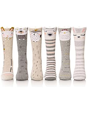 Ateid Pack de 6 Pares Calcetines