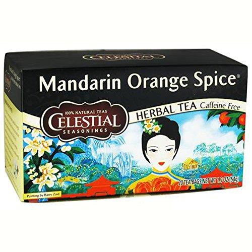 Celestial Seasonings Mandarin Orange Spice Teabags, 20-Count