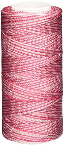 Iris Nylon Crochet Gewinde, 275-yard, Pink Print (Spool Knitting Machine)