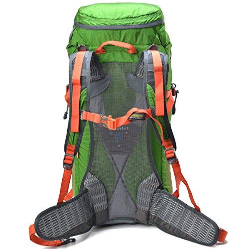 Outdoor Sport Bergsteigen Tasche Camping Trekking Rucksack Green