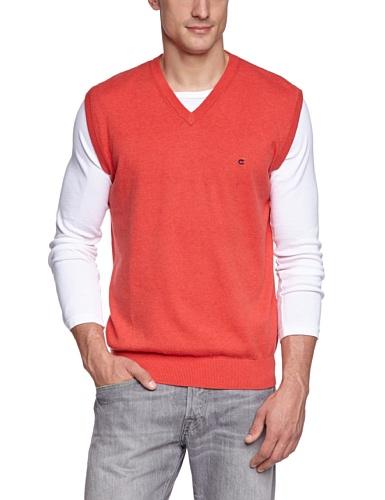 CASAMODA Herren Pullunder Regular Fit 004160/432 Rot (432 koralle)