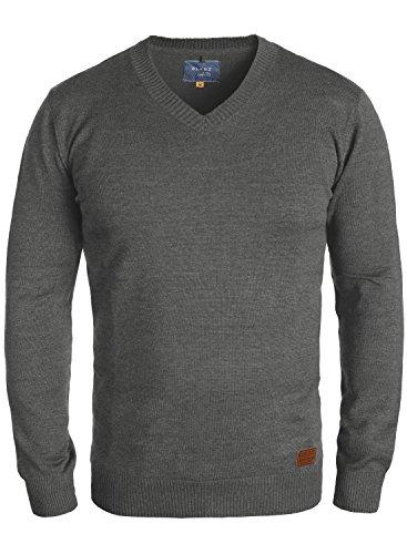 Blend lasse - maglione da uomo, taglia:xxl;colore:pewter mix (70817)