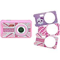 Teknofun STRASS Digital Camera with 3 Interchangeable Faces (5 MP)