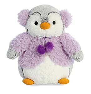 Aurora World 74020pompón pingüino Chaqueta, Morado, 9