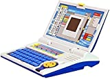 Tabu Toys World English Learner Kids Educational Laptop with Mouse,20 Activities and Games