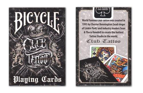 Bicycle 1026156 - Club Tattoo Spiel- und Pokerkarten (Sandwich-karte-spiel)