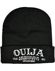 Planche Ouija Beanie Hat Hat Bonnet Occult gothique emo