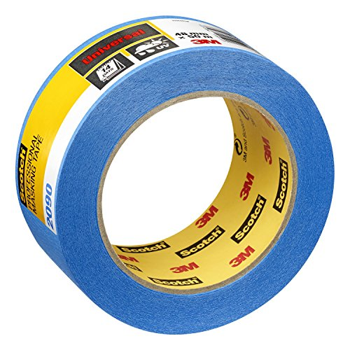 Scotch PT209048 Super Malerabdeckband, 48 mm x 50 m, Profi-Plus Qualität, blau