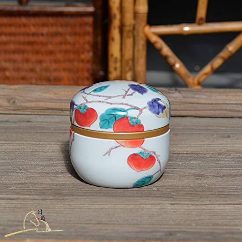 Tee Kann, Japan News Matcha, Eisbox, Teekiste, Storage Tee Versiegelten Dosen, Chinesische Tee-set, Chinese Tee-container-g 8x9cm(3x4inch) Cookie Jar Japan