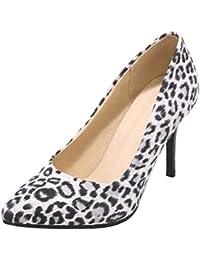 8a6284497b255e Onewus Damen Elegant Leopard Pumps mit Stiletto Heel Schuhe für Datierung  Hochzeit
