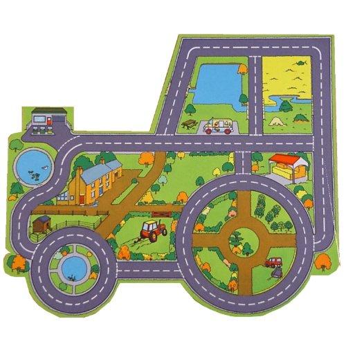Die Riesige Traktor und Bauernhof Spielmatte: eine tolle Ergänzung für das Spiel- oder Schlafzimmer sowie Kindertagesstätte oder Klassenraum