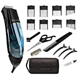 Best Remington Clippers - Remington HKVAC2000A Vacuum Haircut Kit, Blue Review