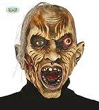 Guirca Rudy máscara de Zombie, Monstruo, con Pelo, DE látex, DE Adulto,, 2401