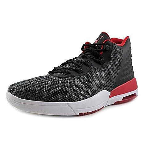 Nike - Jordan Academy - 844515001 - Couleur: Blanc-Noir-Rouge - Pointure: 42.0