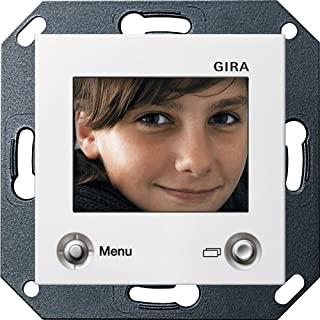Gira 128603 TFT-Farbdisplay System 55 reinweiß glänzend