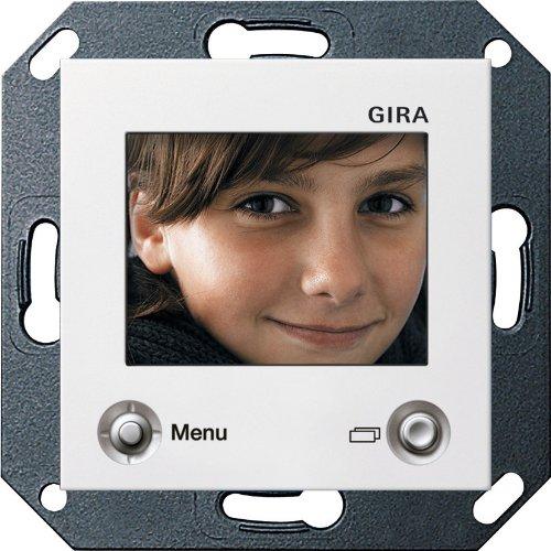 Preisvergleich Produktbild Gira 128603 TFT-Farbdisplay System 55 reinweiß glänzend