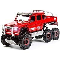 Markc Seis ruedas Drive Off-road coche teledirigido de gran tamaño de seis ruedas unidad de recogida de alta velocidad de camiones de carga Boy niños de coches de juguete de control remoto con 1800 mA