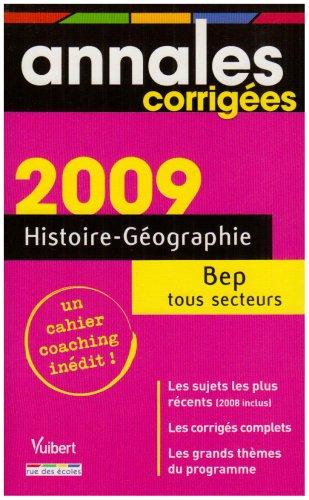 Histoire-Géographie BEP tous secteurs