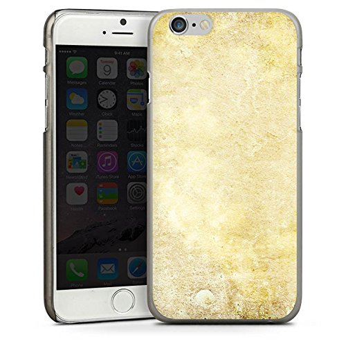 Apple iPhone 5s Housse Étui Protection Coque Pierre Look motif Mur CasDur anthracite clair