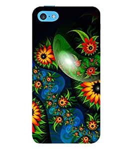 99Sublimation Animated Pattern 3D Hard Polycarbonate Back Case Cover for Apple iPhone 5c