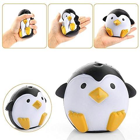 Maphissus doux Animal Squeeze stretch Compresse Squishy décompression jouet Pingouin en peluche Simulation gâteau rebond enfants Jouets Pingouin