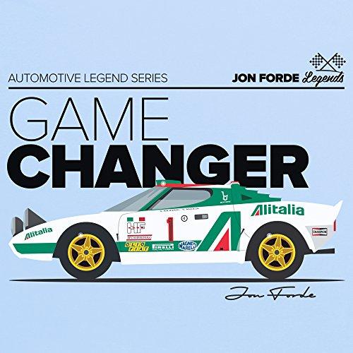 Jon Forde Game Changer T-Shirt, Herren Himmelblau